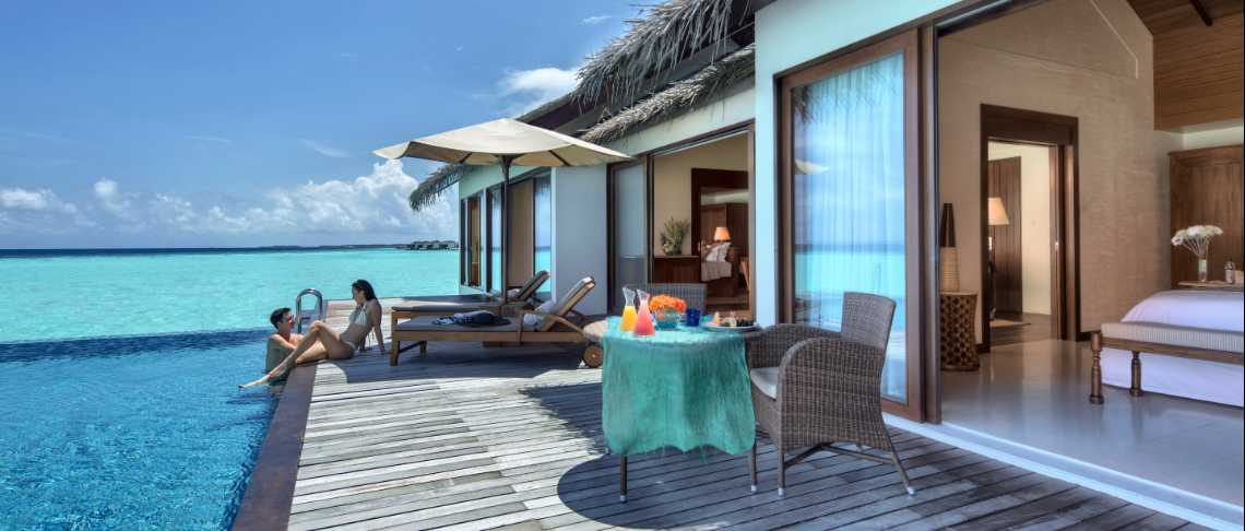 The Residence Maldives  - 2Bedroom Water Pool Villa
