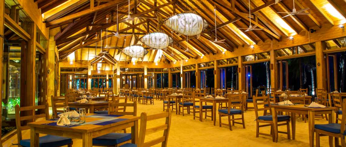 Innahura Maldives Resort - Restaurant Innahura