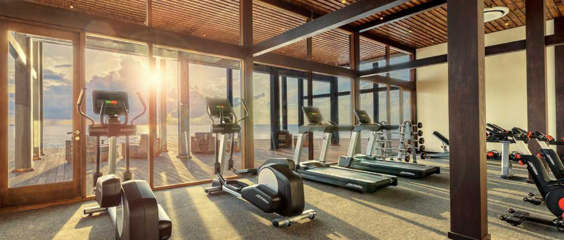 Kudadoo Maldives Private Island - gym