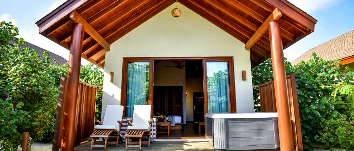 #Reethi Faru Resort - Deluxe Beach Villa With Jacuzzi
