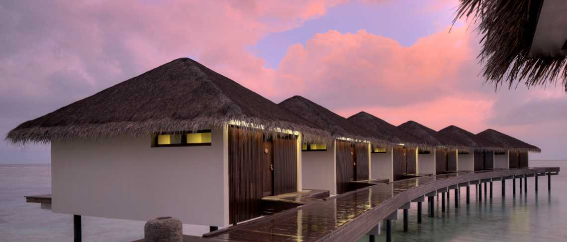 Residence Maldives spiaggia