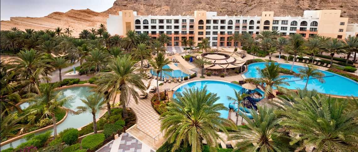 Oman - Muscat pool resort